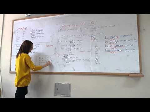 Clases de turco(1)