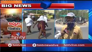 High Temperature Record In Adilabad District  | hmtv