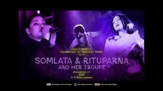 Music Bangla Celebrates 1st Jan'14 Night with Somlata & Rituparna (Teaser)