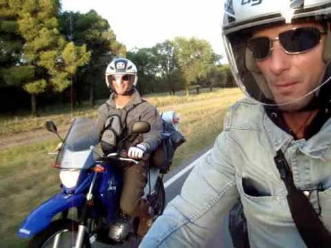 YAMAHA FZ16 y YAMAHA XTZ125 de Vacaciones por las rutas del Sur de Argentina