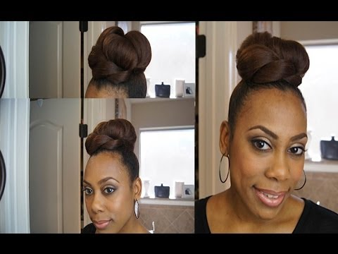 My Sleek High Bun Tutorial