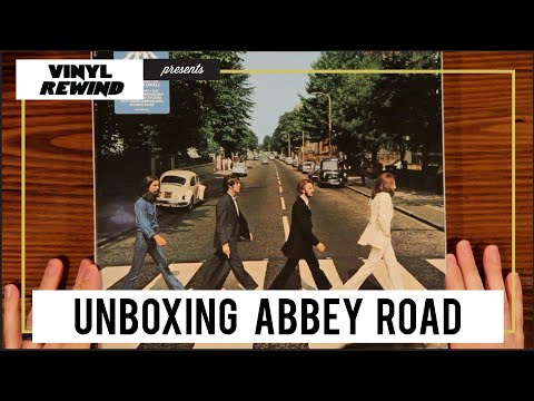 Unboxing Abbey Road 50th Anniversary Deluxe Vinyl Edition