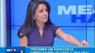 Entrevista sobre la negociación del aumento del salario mínimo para 2019  | CityTv