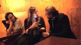 Sons Of Anarchy Support OneHeartSource #11 Charlie /Ryan Meet CEO Hori,Charlie Gets Kisses(10-13-12)