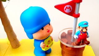 Pocoyo and Super Mario Dessert Playset