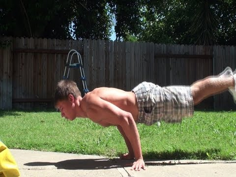 Full Planche Push Up Tutorial Training