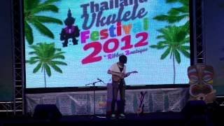 2012 Thailand Ukulele Festival : Just The Way You Are - Sungha Jung