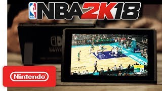 NBA 2K18 Launch Trailer 🏀 - Nintendo Switch