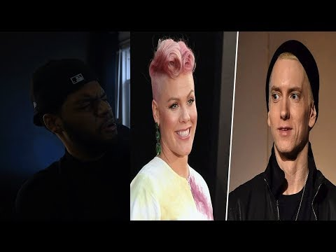 Reacting to Pink Revenge Featuring Eminem- Pink Revenge Lyrics (ft. Eminem)