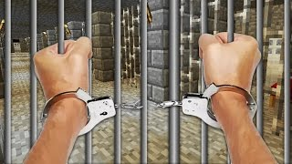 Realistic Minecraft - LITTLE LIZARD GOES TO PRISON!?