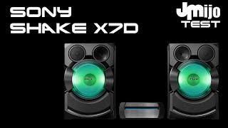Sony SHAKE X7D - Juanmanuelijo TEST