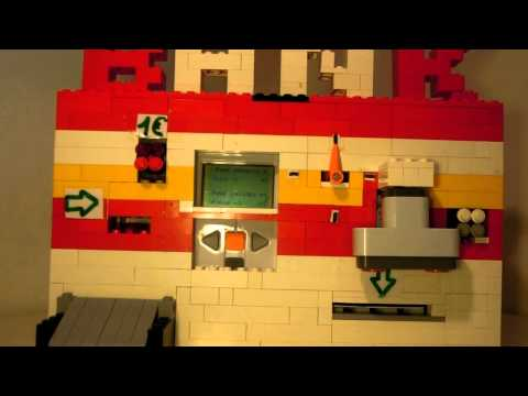 Lego NXT ATM Machine ( Distributeur )