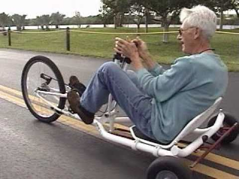 FWD / Rear Wheel Steering Recumbent Trike