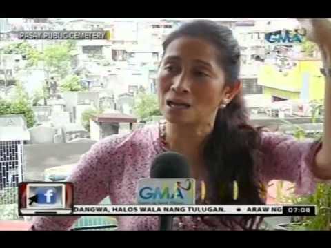 24Oras: Aabot sa mahigit 100 pamilya, naninirahan sa Pasay Public Cemetery