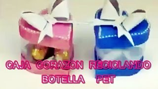 CAJA CORAZON RECICLANDO PET