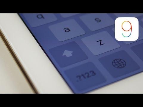 iOS 9: Keyboard Changes!
