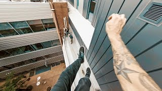 Rooftop Parkour POV - The Descent Project