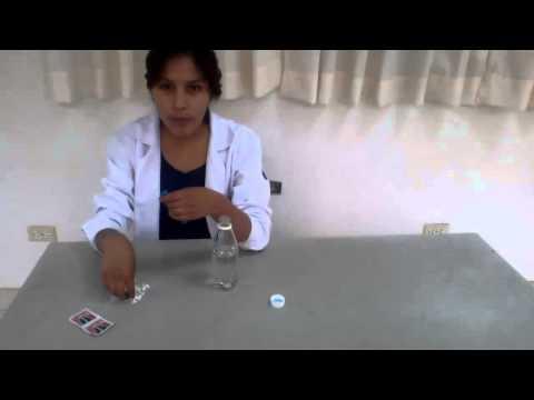 UPeU-Inflar un globo con agua y una pastilla efervescente