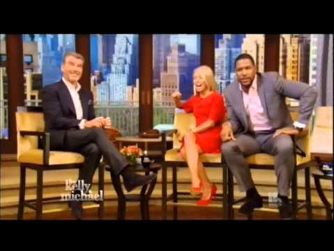 Pierce Brosnan on Live - July 3, 2014