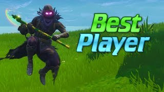 THE BEST FORTNITE PLAYER IN THE WORLD... (Voted #1 By Your Mum)