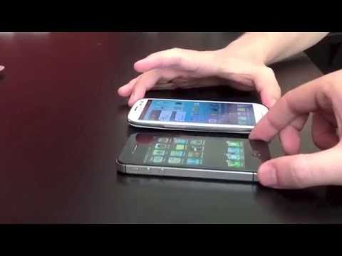 Apple iPhone 4S Vs. Samsung Galaxy S III