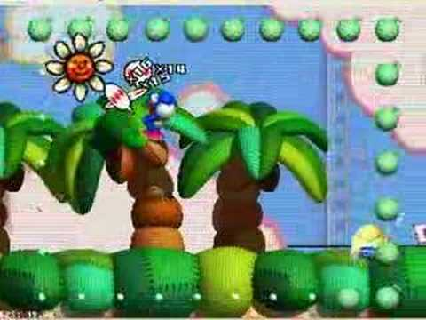 Yoshi's Story 1-3 Rail Lift All Melons