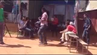 "Funny Ethiopian boy singing for ""Shero"""