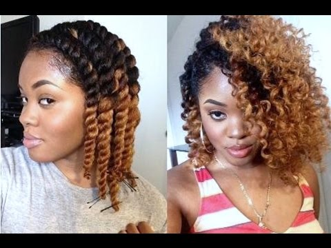 Natural Hair   DEFINED Chunky Flat Twist Out