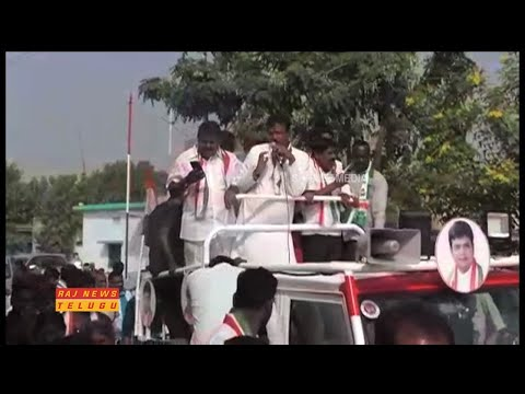 Ex Minister Sridhar Babu Election Campaign at Manthani Constituency || Raj News