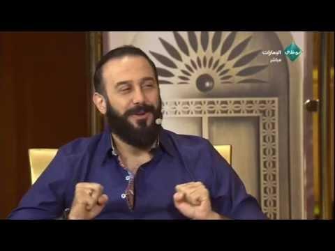 لقاء مع النجم السوري قصي الخولي من رساله مهرجان ابو ظبي السينمائي 2014