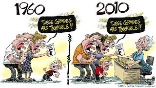Funny Illustrations That Show The Changing World Then vs Now