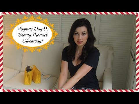 Pesto Pizza and Beauty Product Giveaway! #Vlogmas Day 9