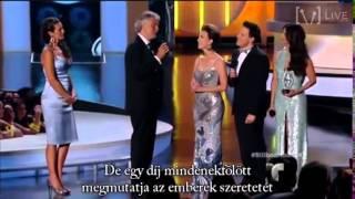 Andrea Bocelli életműdíjat Kap Magyar Felirattal