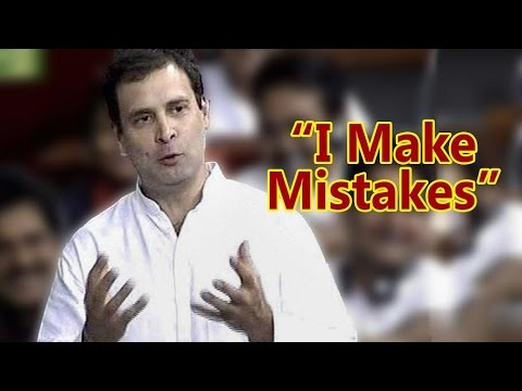I Make Mistakes, I Am Not From RSS Says Rahul Gandhi | Full Speech In Parliament