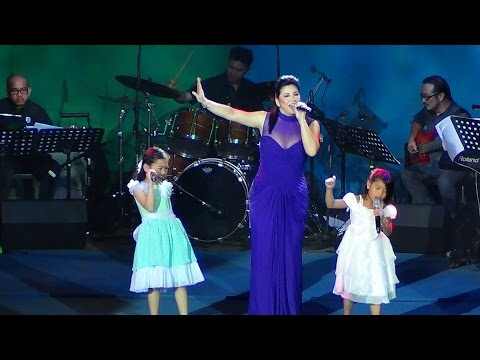 REGINE VELASQUEZ, LYCA & DARLENE - Let It Go (On A High Note Concert!)