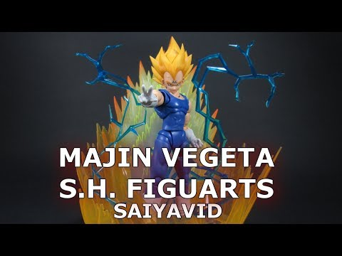 Majin Vegeta S.H. Figuarts Dragon Ball Z Review en Español