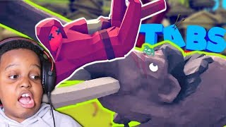 THIS WILL NOT END WELL | Totally Accurate Battle Simulator #1