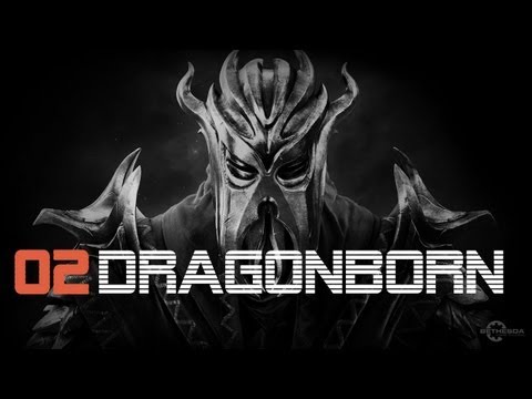 Let's Play Skyrim Dragonborn German - SCHREIN - Part 2