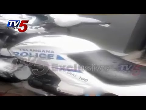 Brand New Vehicles for Telangana Police |Safe Hyderabad : TV5 News