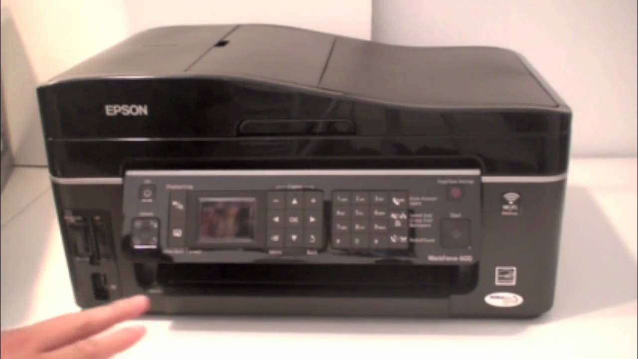 Epson Workforce 600 Review - YouTube