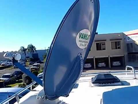 AAV Automatic satellite dish