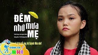 Bé Hà Quỳnh Như hát Đêm Mưa Nhớ Mẹ ngọt như mía lùi