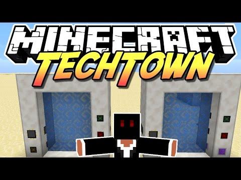 Minecraft TechTown - ENHANCED PORTAL MOD #140 - auf gamiano.de