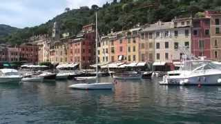In Moto ... a Portofino ( On the Motorcycle...to Portofino ) HD
