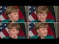 Le regard d'Angela Merkel qui exprime toute la détresse des politiques face à Donald Trump MP3