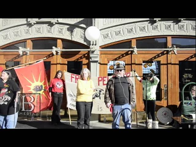 Northwest March in Solidarity With Leonard Peltier