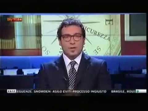 """SkyTG24 del 24/06/13 Servizio sulla guida per il consumatore critico antiracket """"Pago chi non paga"""""""