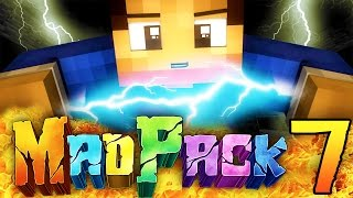 """Minecraft MAD PACK 2: """"ELECTRIC POWER!"""" Episode 7 (Power Moves, Boss Attacks, Dynamos!)"""
