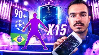 90er WALKOUT und KAPUTTES HANDY 😂🔥 Champions League PACK EXPERIMENT
