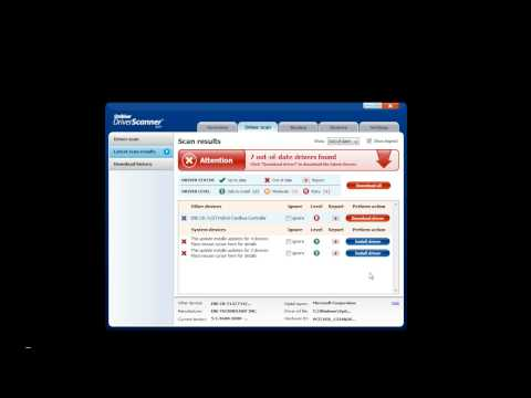 Uniblue Driverscanner 2009 Review
